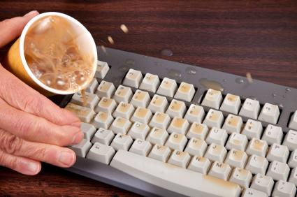 The Keyboard Keys Keep Sticking Computer Repair