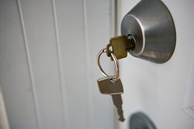Stuck Deadbolt Lock