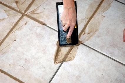 How to Clean Grout between Kitchen Floor Tiles