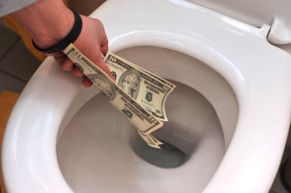 Leaking Toilet Causing High Water Bill