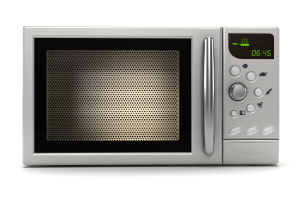 Microwave Sparks when Cooking