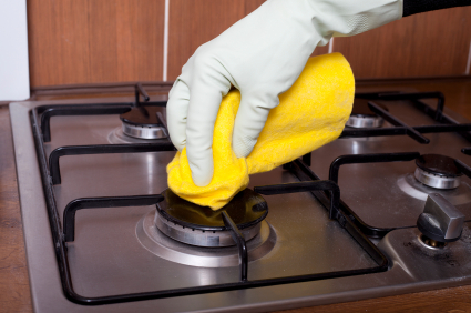 How To Clean Under A Stove Top