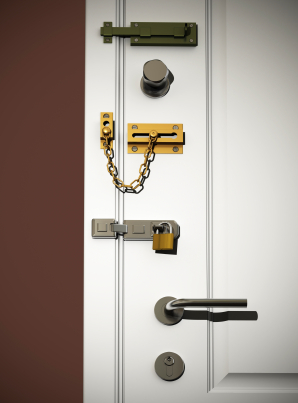 How To Make The Front Door More Secure