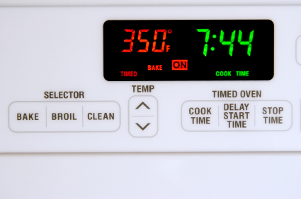 Oven Timer Not Working