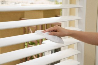 Cleaning Window Shutters