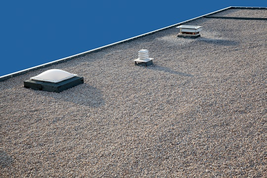Flat Roof Water Drainage