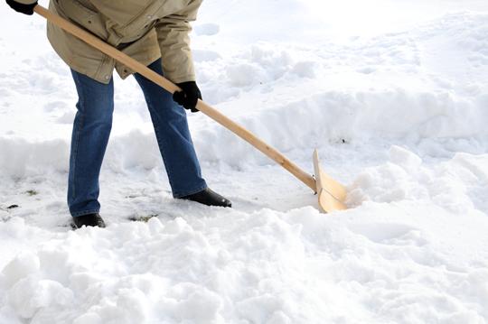 How To Fix A Snow Shovel