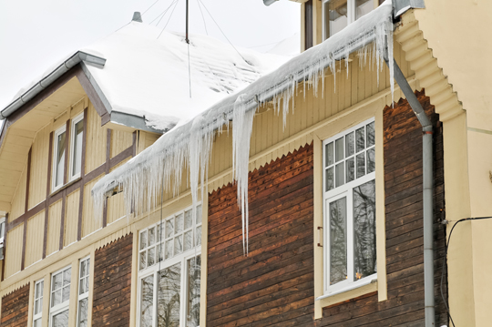 Prevent Gutters From Freezing - Snow Removal