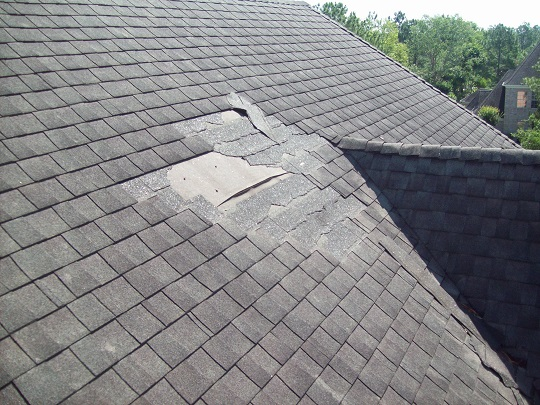 Roof Shingles Repair Wind Damage Roofers Talk Local