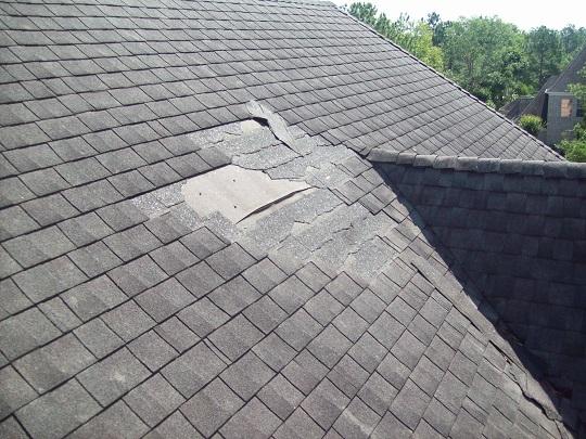 Roof Shingles Repair Wind Damage