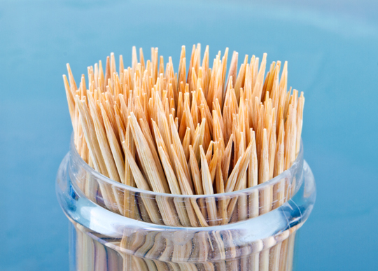 Toothpicks Versus Dental Floss