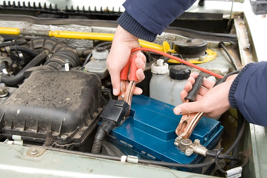 How To Jumpstart A Car With A Battery Charger Towing