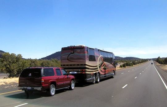 How To Tow A Car Behind An RV