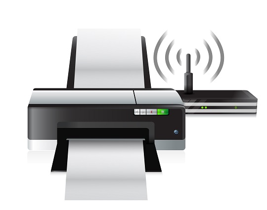 Sharing A Printer Over A Home Wireless Network