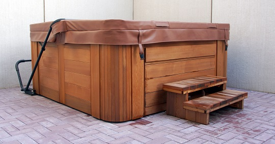 Hot Tub Skirting Replacement
