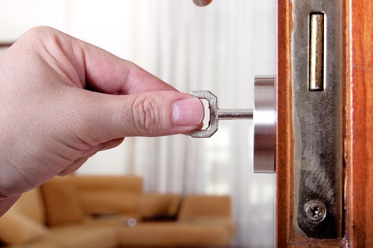 Repair Or Adjust Your Door Lock