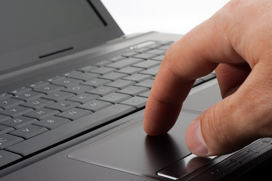 how to make mousepad work on laptop