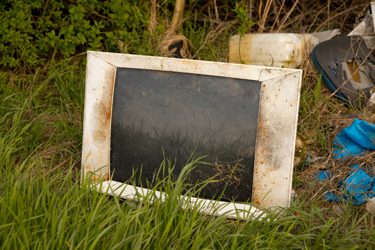 How Do I Get Rid of My Old TV? - Garbage Removal