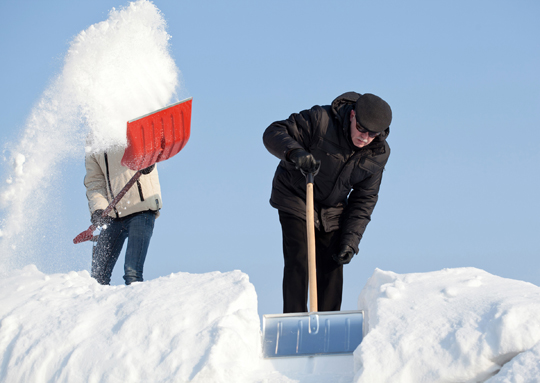 Snow Shoveling Dangers