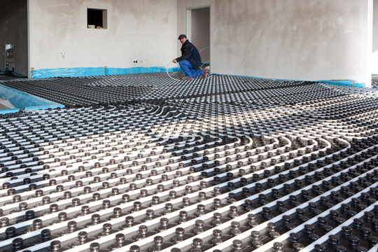 Underfloor Radiant Heating Systems