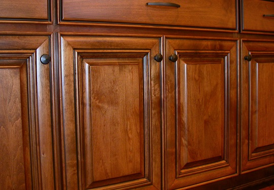 How To Stain Wood Cabinets