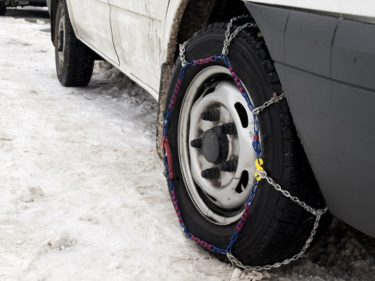 How to Use Zip Tie Snow Tires as an Alternative to Tire Chains - Snow Removal