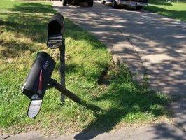 How To Fix Leaning Mailbox Posts