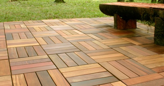 Teak Outdoor Flooring