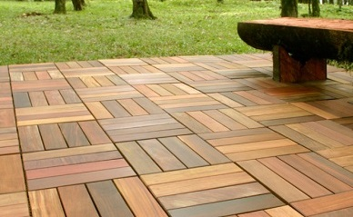 Outdoor Teak Decking
