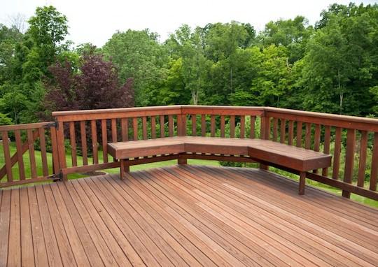 Refinish Wooden Deck - Painters