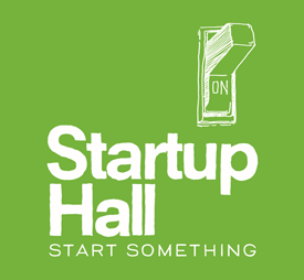 Startup Hall press logo