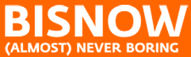 bisnow (almost) never boring press logo